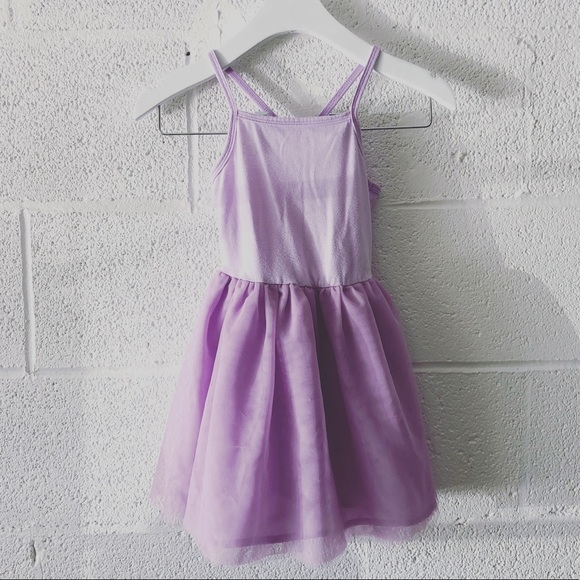 Old Navy lilac tulle dress sz: 3T